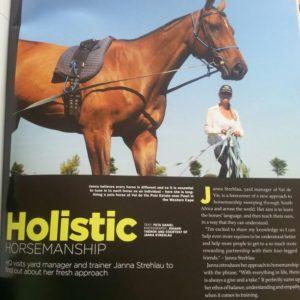 HQ Artikel 2014 ueber meine arbeit mit Pferden.