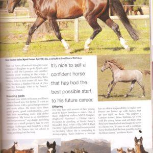 HQ Pferde Zeitung in South Africa im Jahre 2006